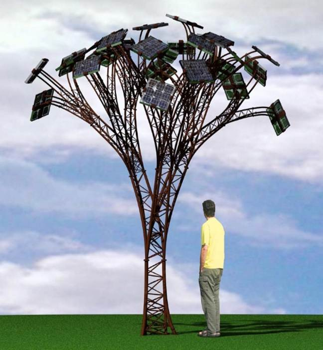 Solar Tree Full Seminar Report Abstract And Presentation