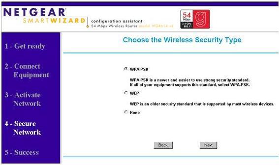 how to change printer password wireless