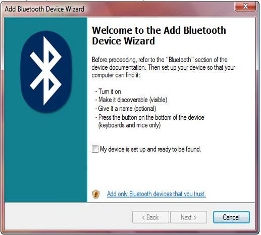 Connect smartphone to laptop using Bluetooth and turn ...