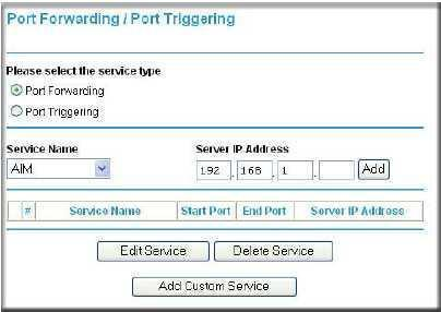 How to setup Port Forwarding on the Netgear Wireless G
