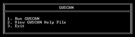 gwscan