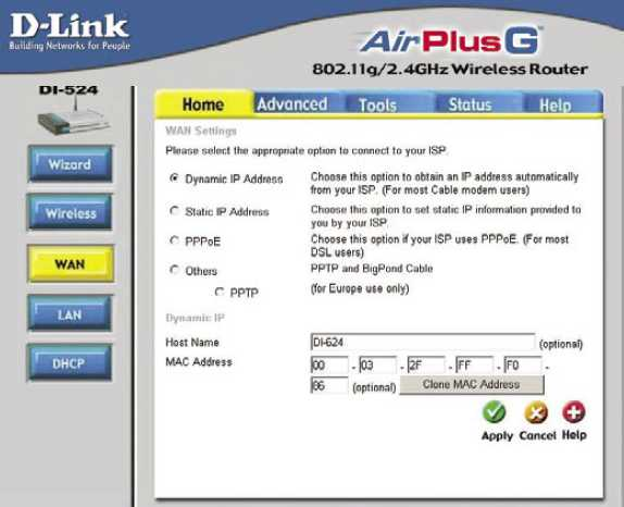I foolishly upgraded my firmware for my d-link di-524 router from 302 to 323 and