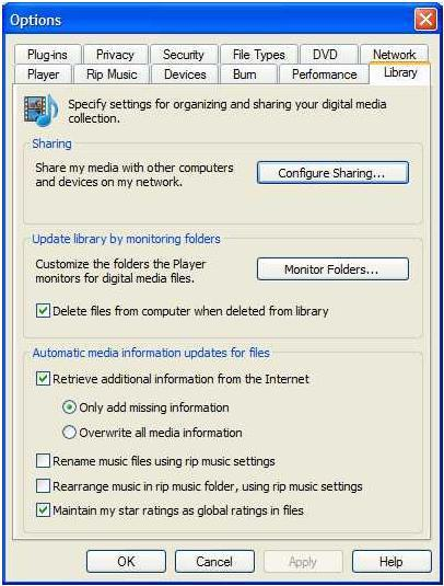 Installation of Windows Media Player 11 look like, and what